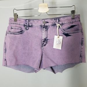NWT Jessica Simpson Forever Shorts Purple 30